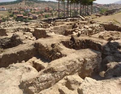 Ruines de Vinicko Kale