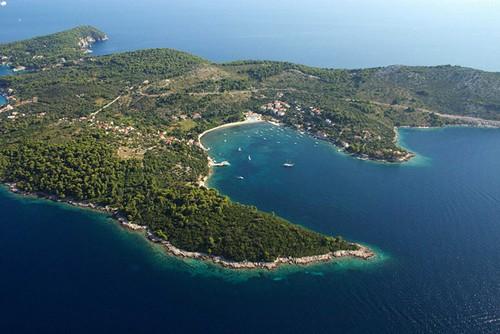 Iles croates aux abords de Dubrovnik