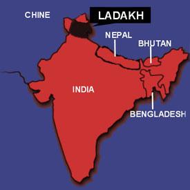Ladakh-carte