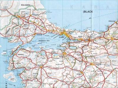 Cliquez sur la carte pour l'agrandir - Copyright carte : http://www.bostontoistanbul.com