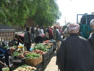 Un autre coin du marché hebdomadaire de Tadjena (Chlef)