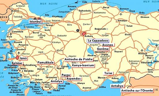 turquie-carte