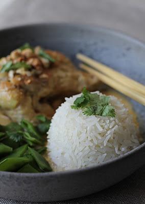 Curry de poulet au lait de coco et noix de cajou 2