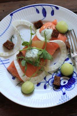 Recette danoise du Saumon au sel (Cuisine scandinave) 1
