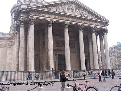 Une visite au Panthéon à Paris 1