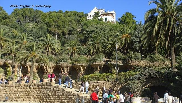 Parc g ell en photos promenade au pays des merveilles for Barcelona jardin gaudi
