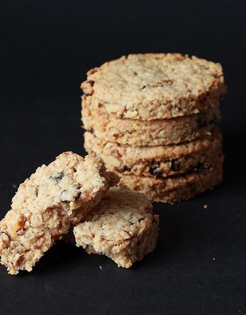 Oatcakes aux noix et aux raisins (Recette anglaise) 2