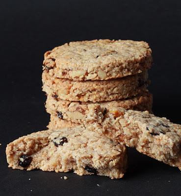 Oatcakes aux noix et aux raisins (Recette anglaise) 1