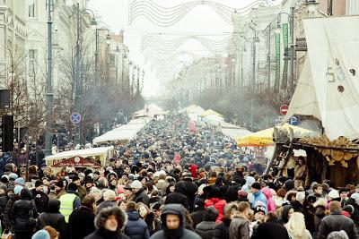 Kaziuko mugė : foire en l'honneur de Saint Casimir à Vilnius en Lituanie 6