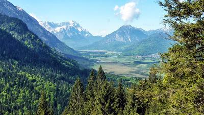 De Eschenlohe à l'Osterfeuerspitze ; balade bucolique en Bavière (Randonnée Allemagne) 9