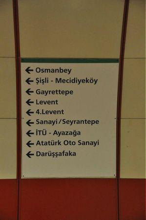 metro istanbul publicité