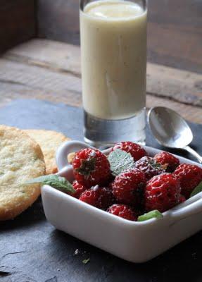 Sablés bretons à la verveine ; succulents avec des fruits rouges (Recette bretonne) 2