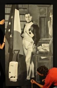 Un portrait de Michel Houellebecq par Mathias Durand-Reynaldo 1