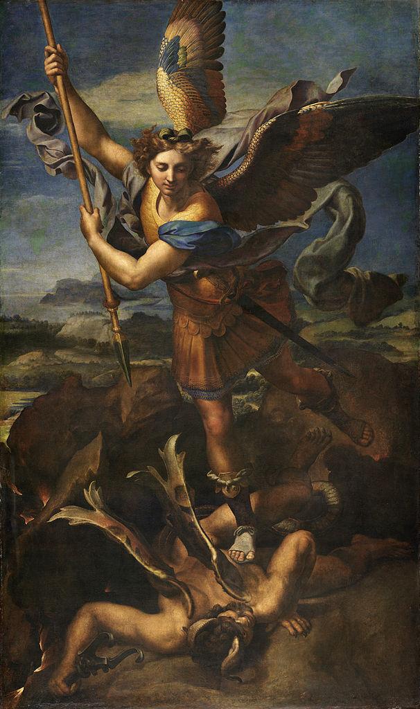 Musée du Louvre : La figure de l'Archange, les dernières années de Raphaël 3
