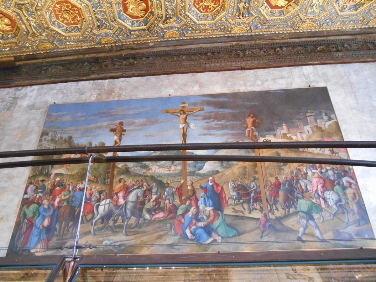 """""""La Crucifixion"""" d'Alvise Donato."""
