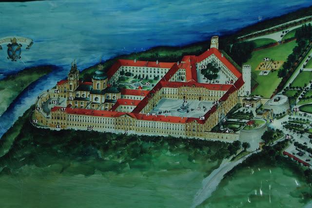 Visite de l'abbaye de Melk en photos: charmes de la vallée de la Wachau (Tourisme Autriche) 10