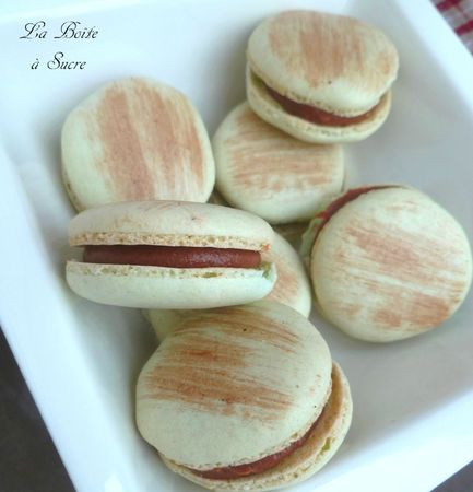 Macarons choco caramel 2