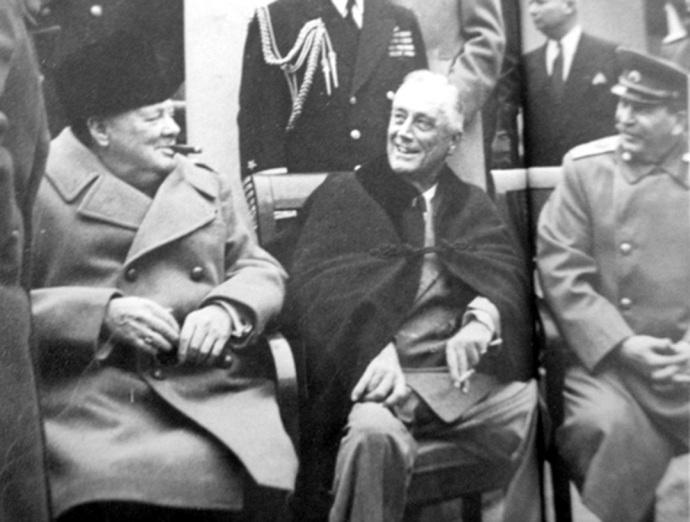 yalta churchill roosevelt staline
