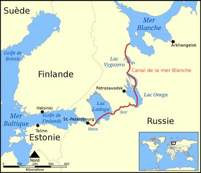 2 Août 1933 : Staline inaugure le Belomorkanal 2