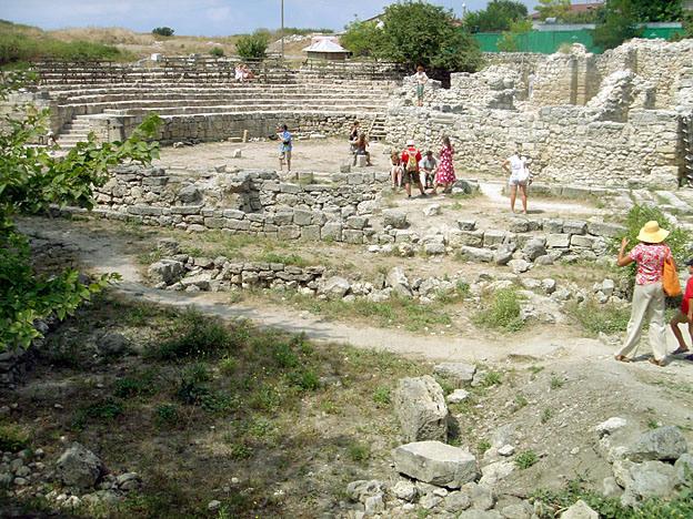 Chersonese ruines grecques