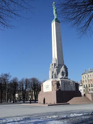 Riga monument de la liberté