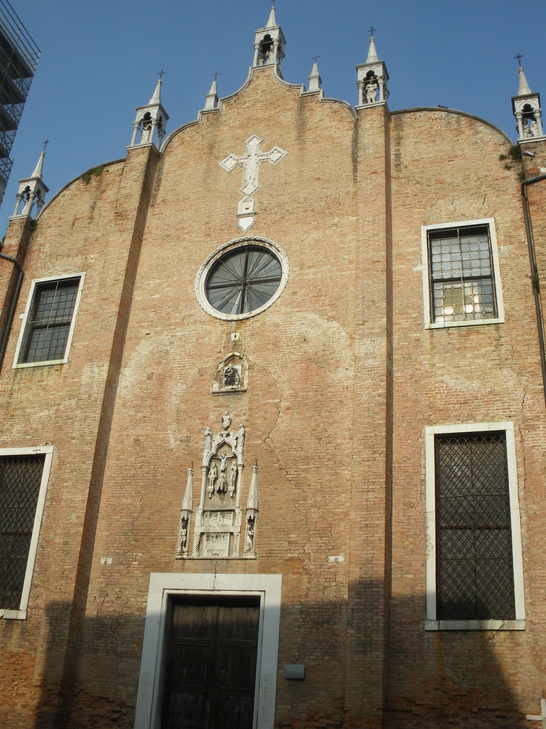 Eglise désaffectée de San Aponal située sur le Campo du même nom.