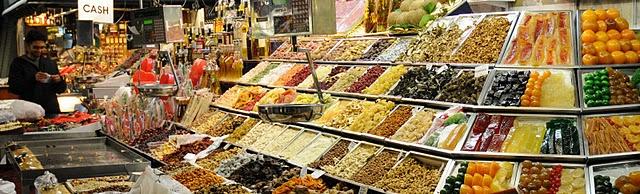 barcelone boqueria marché