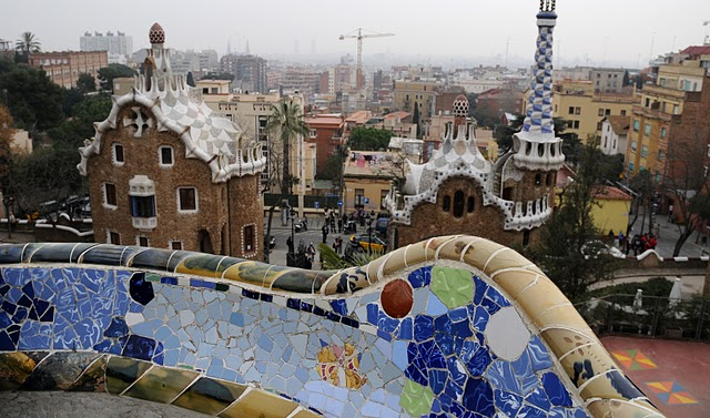 barcelone en 4 jours parc guell