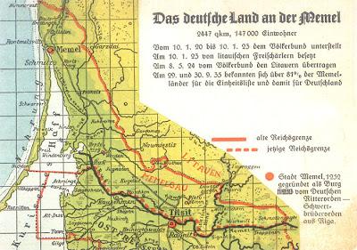 10 Janvier 1923 : quand Lituaniens et Français se faisaient la guerre pour Klaipėda 1
