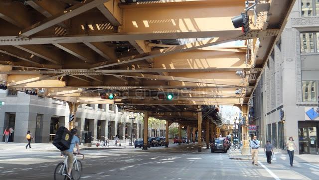 Chicago : Le Loop, aventures dans le train suspendu 14