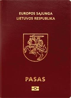 passeport lituanuie