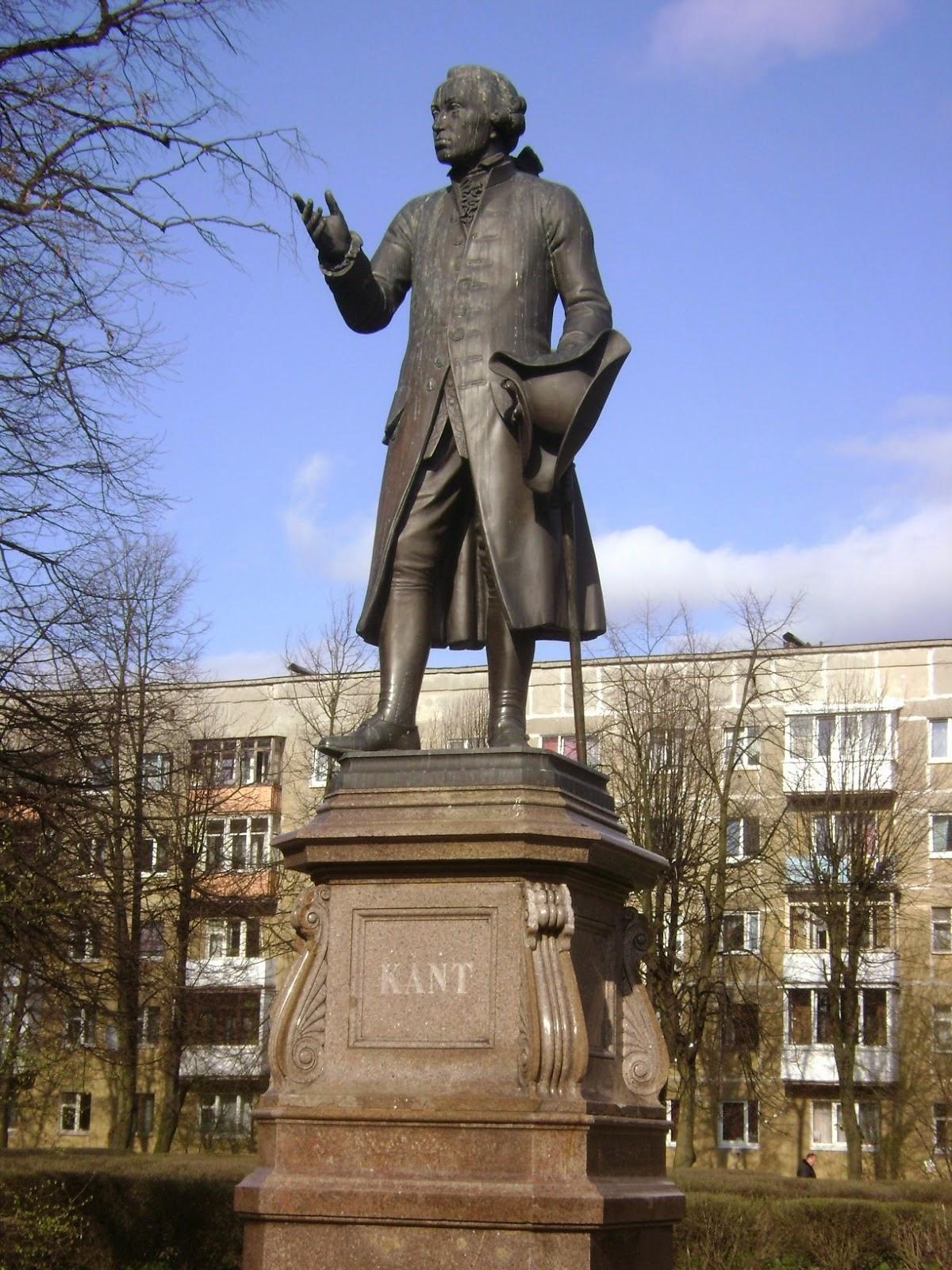 Statue d'Emmanuel Kant