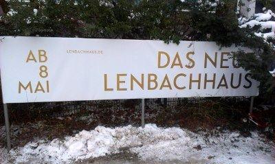 Lenbachhaus Musée munich Photo: DAS NEUE LENBACHHAUS... noch 65 Tage bis zur Wiedereröffnung