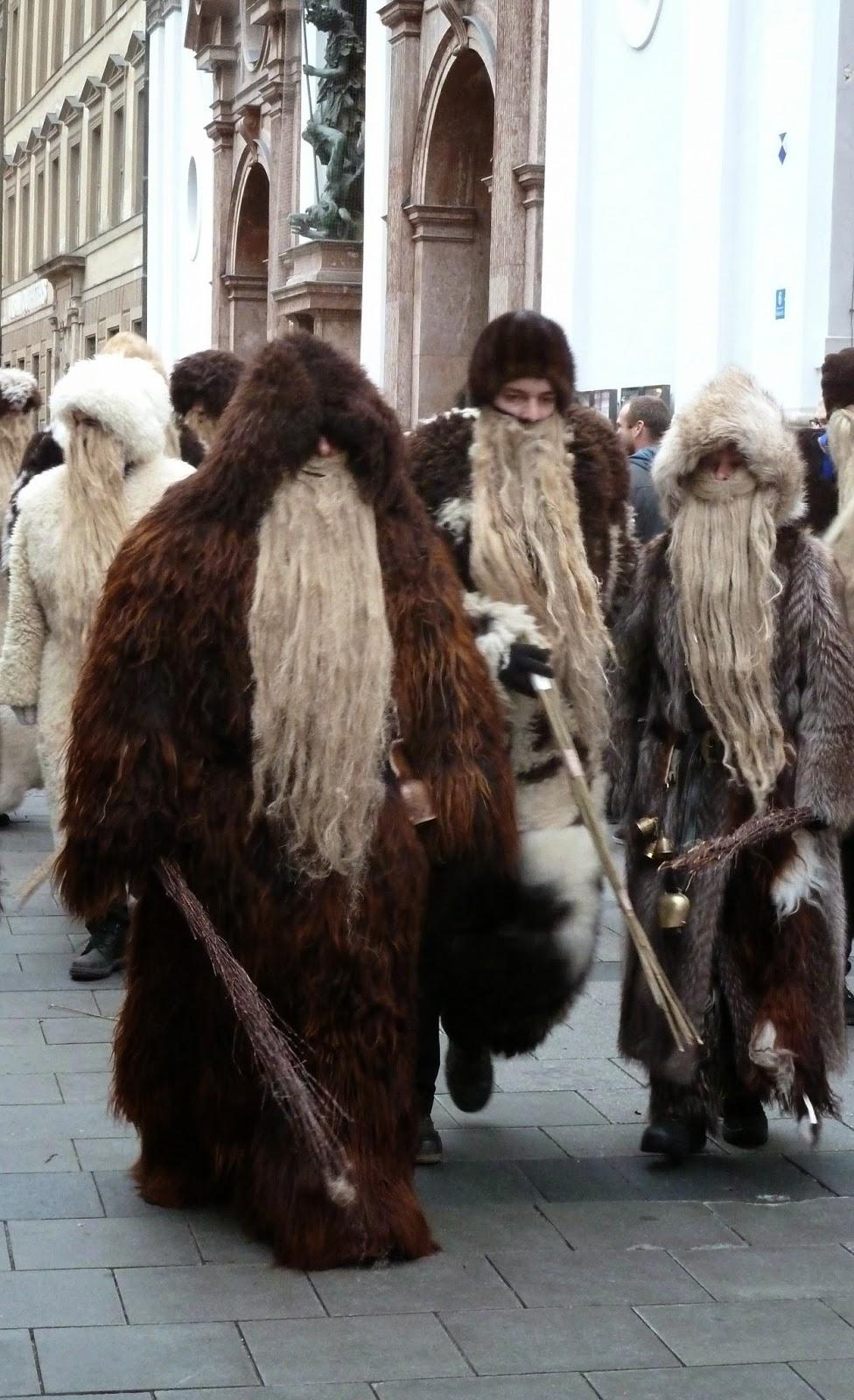 défil à munich pendant la saint nicolas