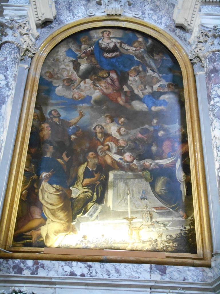 """""""L'Assomption de la Vierge"""" du Tintoret."""