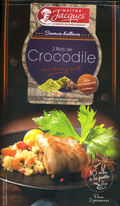Crocodile a manger