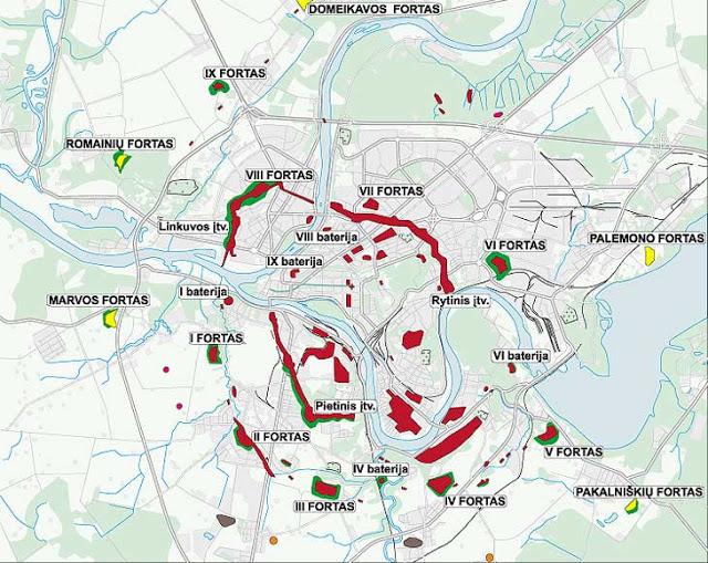 Forts autour de Kaunas : un complexe russe tsariste exceptionnel (Tourisme Lutuanie) 2