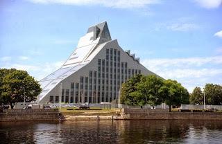 Riga 2014, capitale européenne de la culture ; un château de Lumière 4