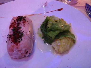 saumon tandoori chou gingembre