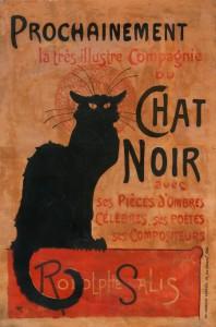 «Autour du Chat Noir» : Exposition Paris, arts et Plaisirs au musée de Montmartre 1