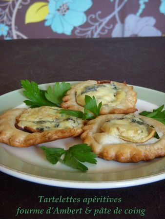 Tartelettes Aperitives Fourme d'Ambert