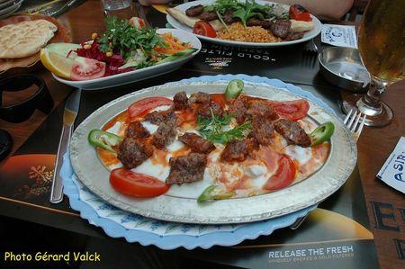 iskander kebab istanbul cuisine turque