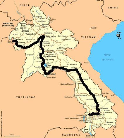 La magie du Mekong en Cylotourisme à l'aventure pendant deux mois 2