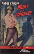 Littérature française - Mort d'un libraire d'André Caroff : un bon vieux polar 1