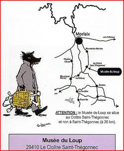 carte accès musee du loup bretagne