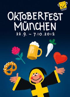 Das offizielle Plakatmotiv 2012., Copyright Oktoberfest.de