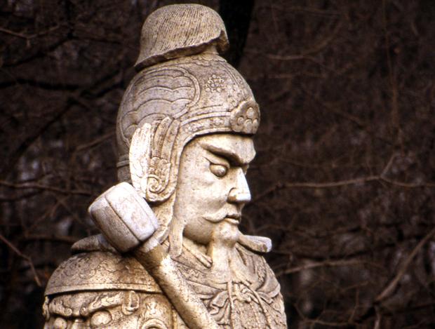 tombeau des ming soldat