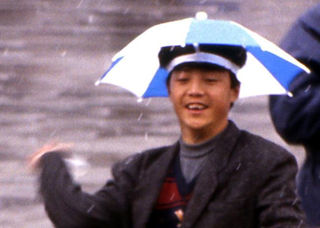 chapeau parapluie pekin