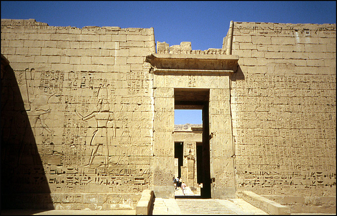 temple Ramsès III medinet habu