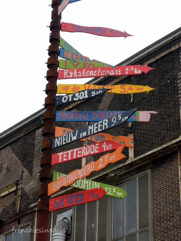 Amsterdam insolite et alternatif ; une zone industrielle abritant des ateliers d'artistes 2